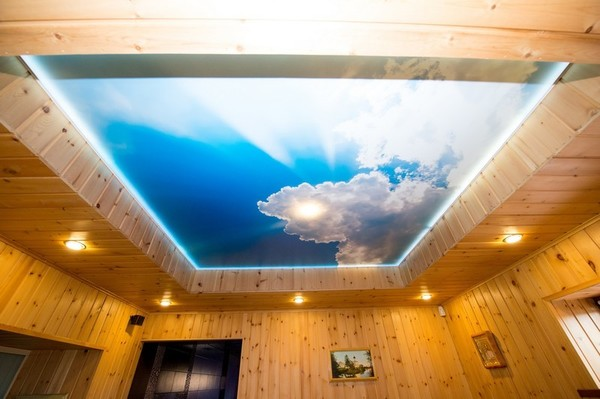 Альбом: Натяжной потолок с фотопечатью, сатин. Фото: 241
