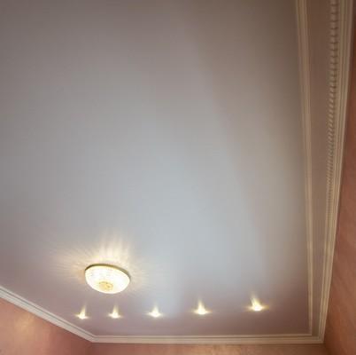 Альбом: Белый натяжной потолок/парящий потолок. Фото: 262
