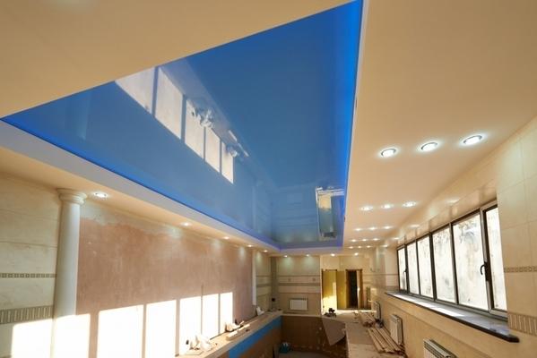 Альбом: Глянцевый потолок в бассейне 27 кв.м.. Фото: 162