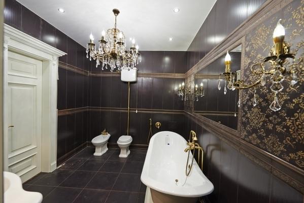 Альбом: Матовый натяжной потолок в ванной, 10 кв.м.. Фото: 183