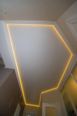 Альбом: Натяжной потолок, со светодиодной подсветкой, 10 кв.м.. Фото: 258